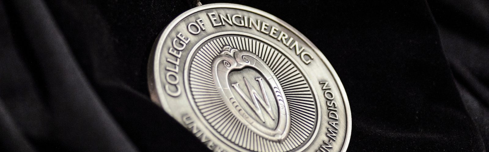 Photo of engineering medallion